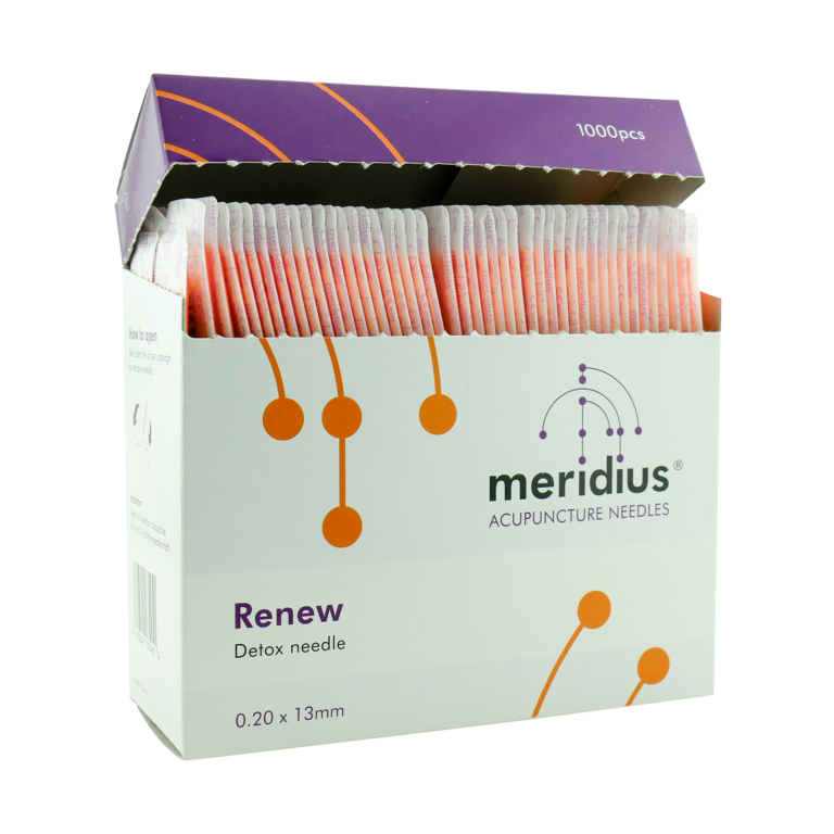 Meridius RENEW Detox Acupuncture Needles