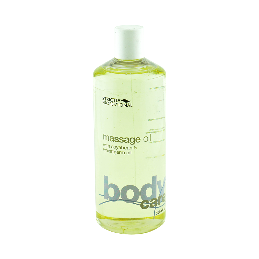 Strictly Professional Soybean & Wheatgerm Massage Oil 500ml