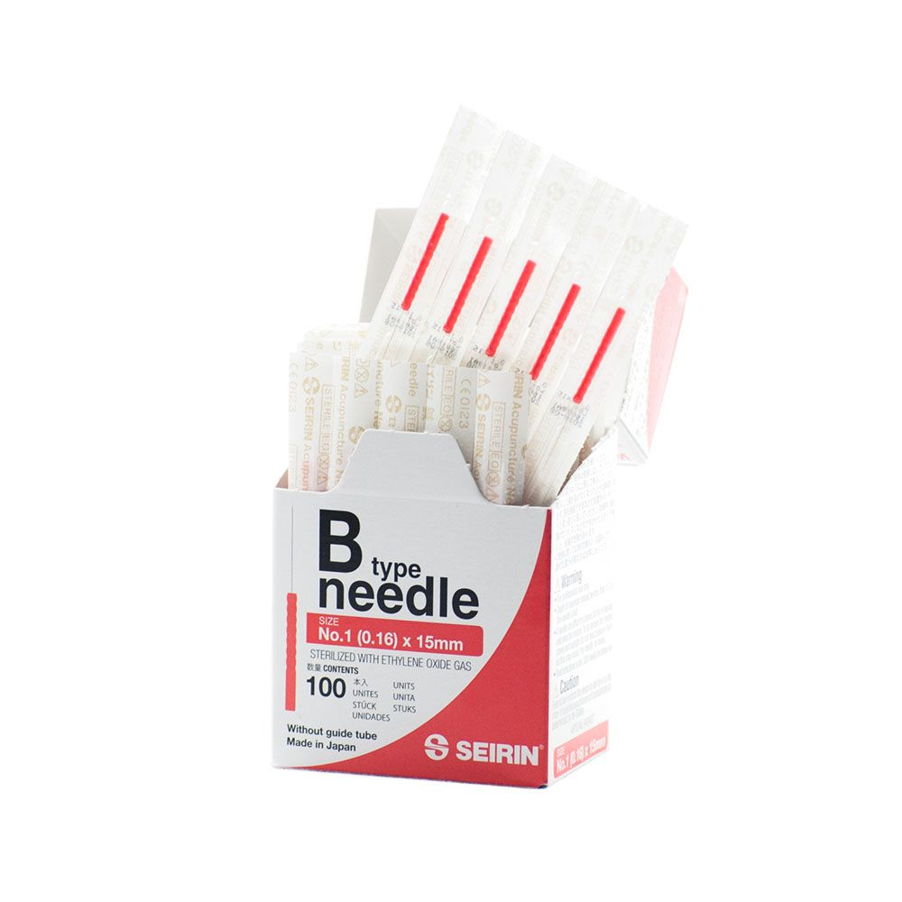 Seirin B-Type Japanese Acupuncture Needles